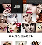 Beauty Facebook HTML CMS  Template 44231