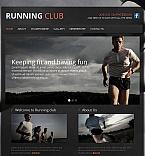 Sport Facebook HTML CMS  Template 44232