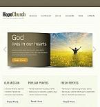 Religious Facebook HTML CMS  Template 44243