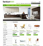 Furniture osCommerce  Template 44255