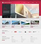 Architecture Website  Template 44260