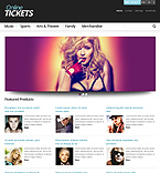 Entertainment PrestaShop Template 44266