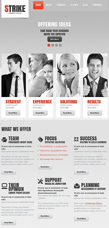 business html template at a price of 69