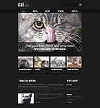Animals & Pets Website  Template 44278