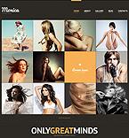 Art & Photography Website  Template 44289