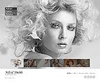 Art & Photography Website  Template 44297