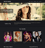 Fashion Website  Template 44299