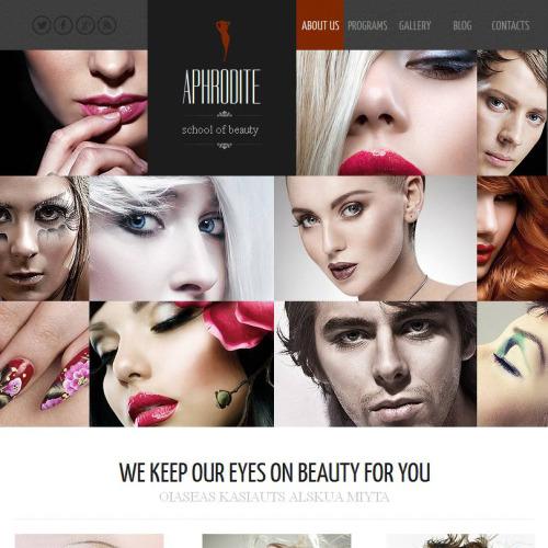 Aphrodite - Facebook HTML CMS Template