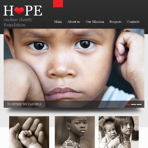 Hope - Facebook HTML CMS Template