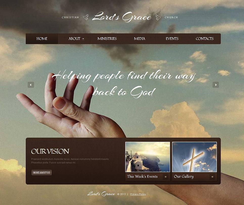 Christian Moto CMS HTML Template New Screenshots BIG