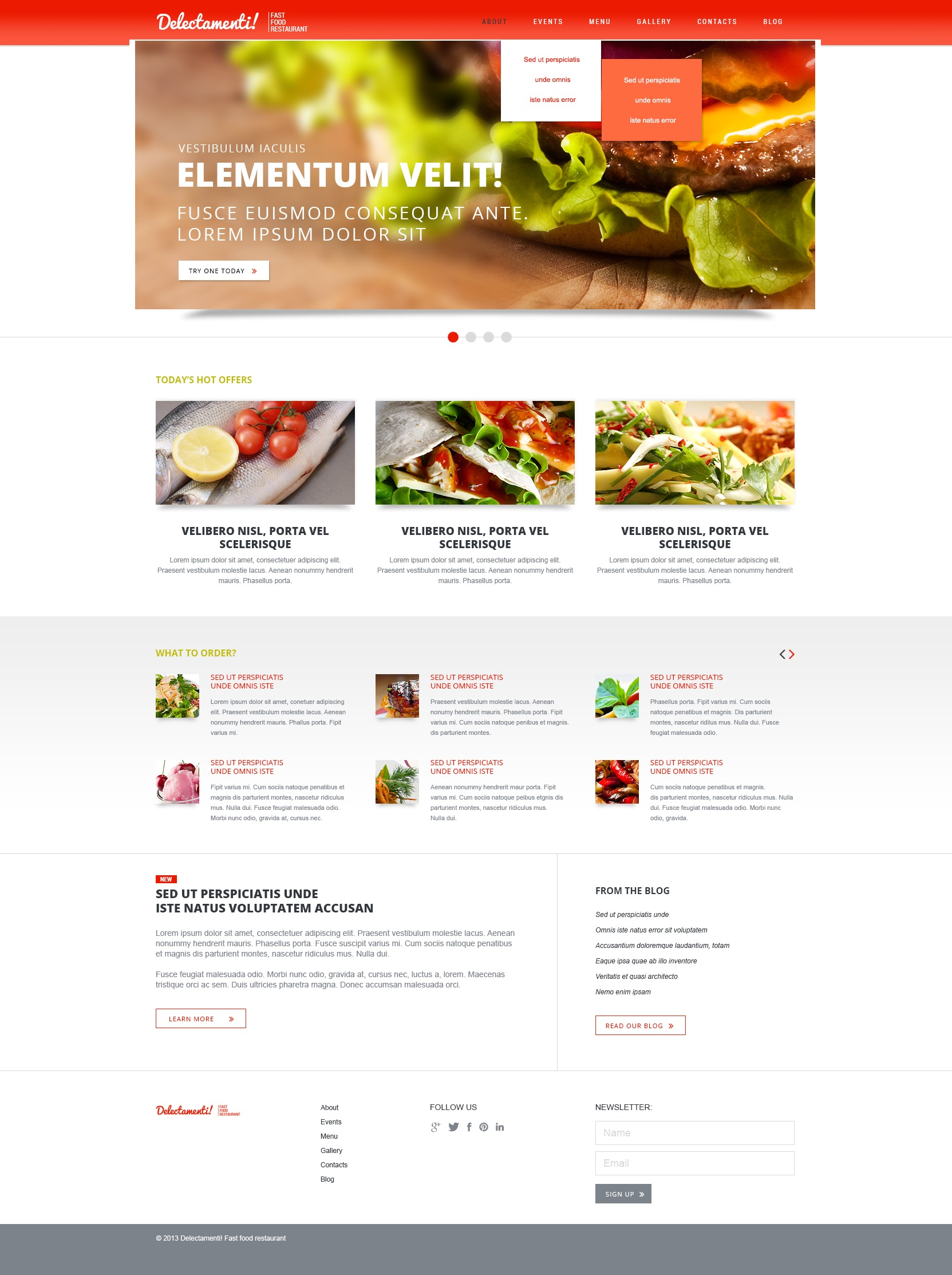 Fast food restaurant joomla template 44275 fast food restaurant joomla template forumfinder Images