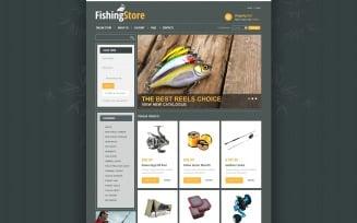 Fishing Store VirtueMart Template