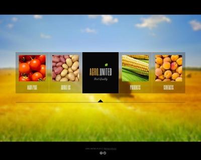 MotoCMS HTML шаблон №44224 на тему сельское хозяйство