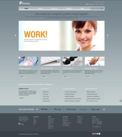 Responsive Plantilla Web #44202 para Sitio de  para Sitio de Sociedades gestoras