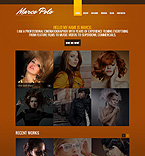 Art & Photography Drupal  Template 44301