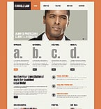 Law Website  Template 44313