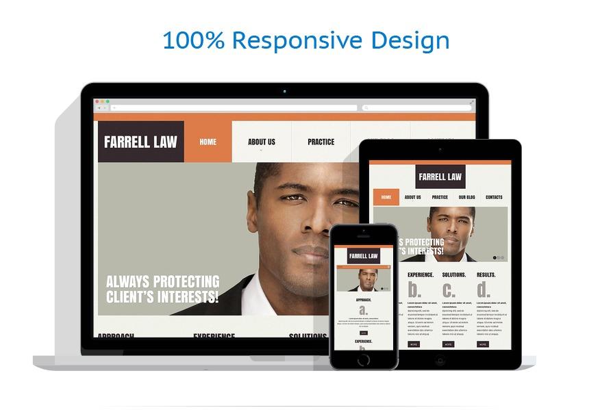 Modèles HTML5 Droit #44313