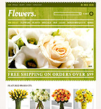 Flowers PrestaShop Template 44317