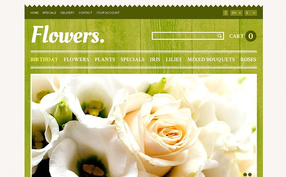 Tema PrestaShop  Flexível para Sites de Floricultura №44317 New Screenshots BIG