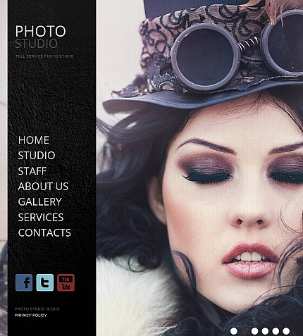 ADOBE Photoshop Template 44323 Home Page Screenshot