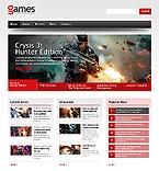 Games Website  Template 44332