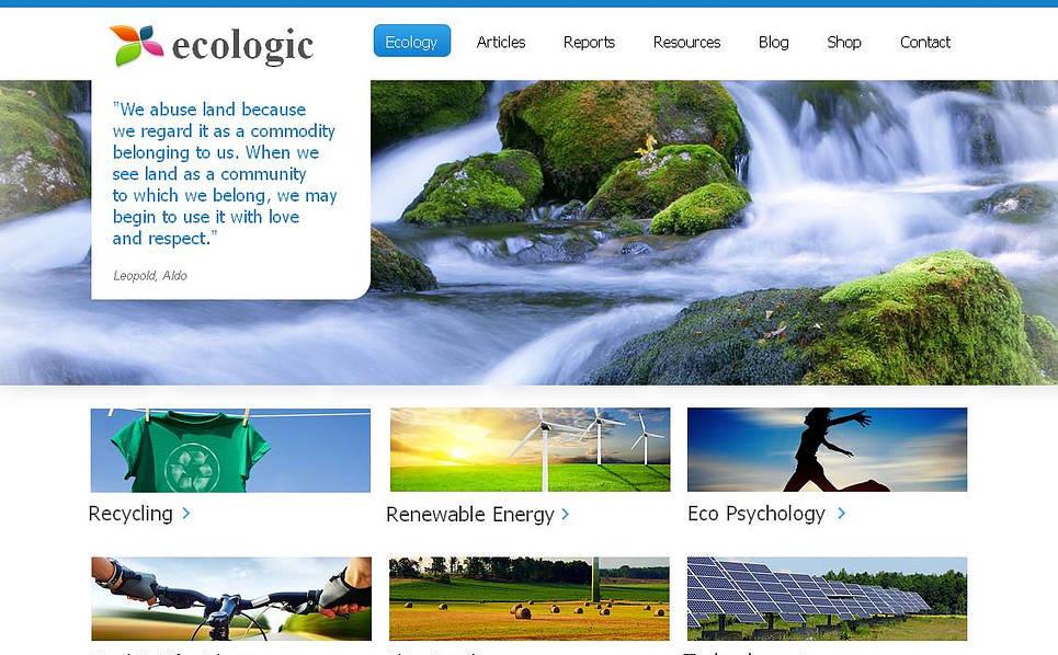 Premium Moto CMS HTML Template over Milieu New Screenshots BIG