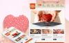 Premium Moto CMS HTML-mall för barnvälgörenhet New Screenshots BIG