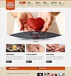 Charity Moto CMS HTML  Template 44341