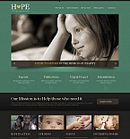 Charity Moto CMS HTML  Template 44345
