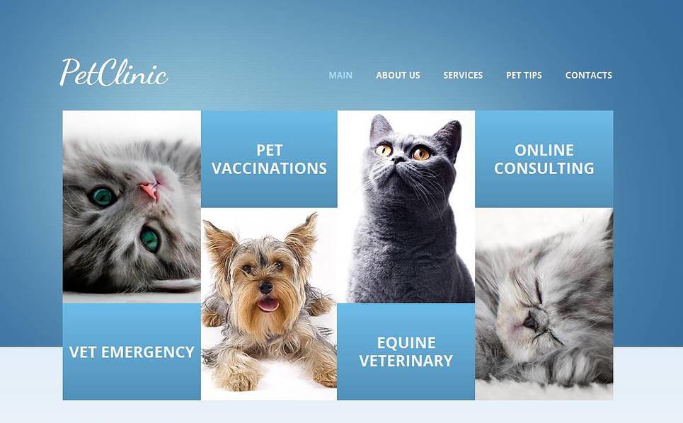 MotoCMS HTML шаблон на тему ветеренарія New Screenshots BIG