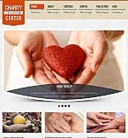 Charity Facebook HTML CMS  Template 44354