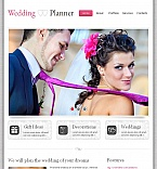 Wedding Facebook HTML CMS  Template 44357