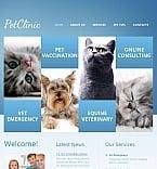 Animals & Pets Facebook HTML CMS  Template 44363