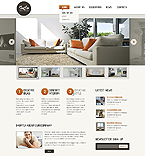 Furniture Website  Template 44378