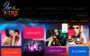 Responsivt Hemsidemall för Natt klubb New Screenshots BIG