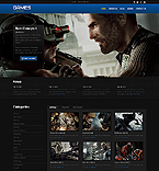 Games Website  Template 44381