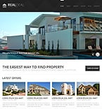 Real Estate Joomla  Template 44383