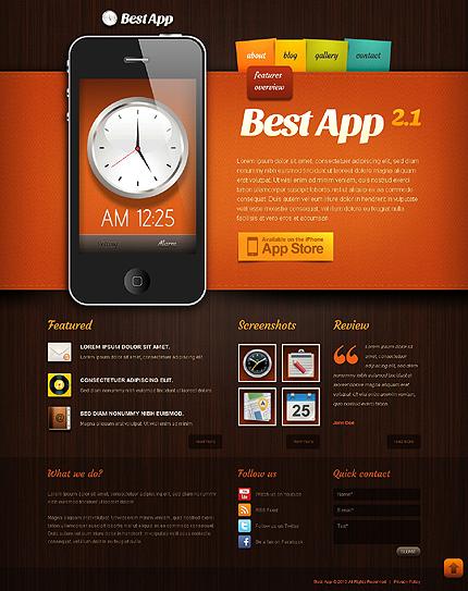 Drupal Template 44386 Main Page Screenshot