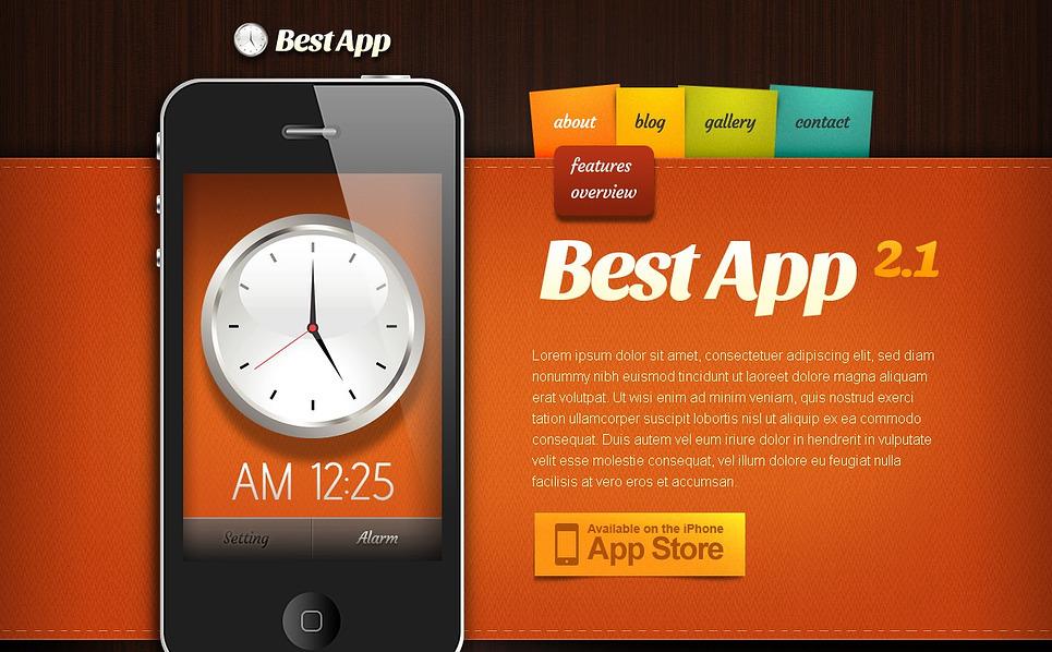 """""""Applications mobiles"""" thème Drupal  New Screenshots BIG"""