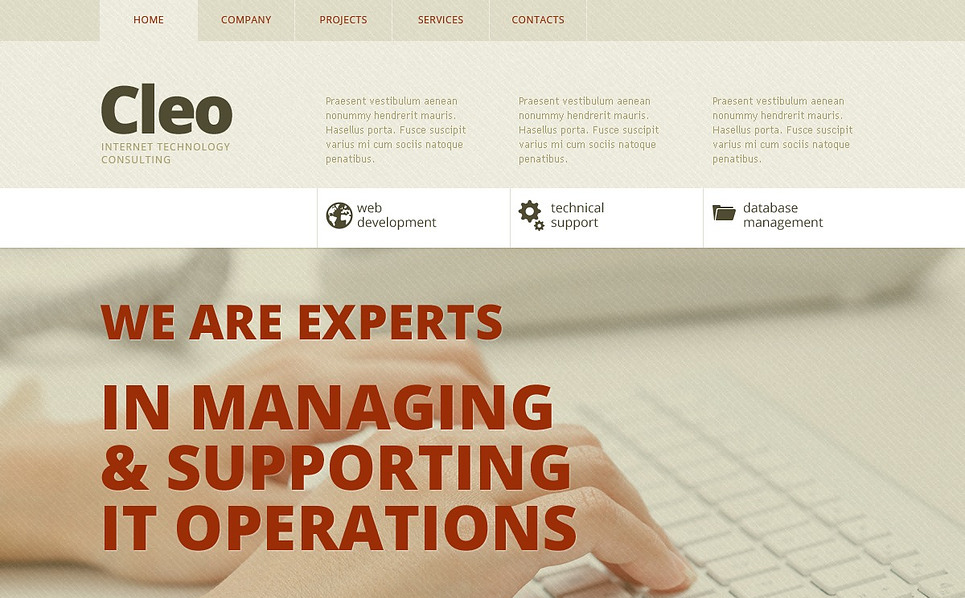 Template Siti Web Bootstrap #44389 per Un Sito di Comunicazioni New Screenshots BIG
