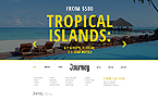 Travel Website  Template 44390