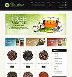 Food & Drink ZenCart  Template 44395