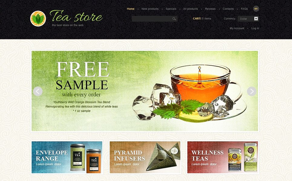 ZenCart template over Thee Winkel  New Screenshots BIG
