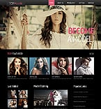 Fashion Website  Template 44399