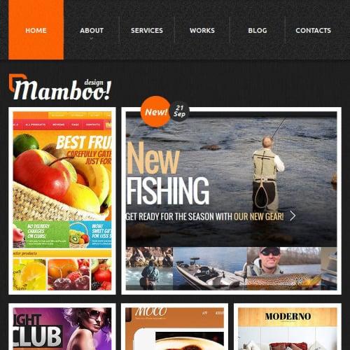 Mamboo - Facebook HTML CMS Template