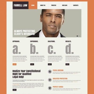 law firm website templates. Black Bedroom Furniture Sets. Home Design Ideas