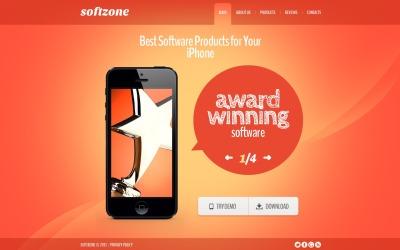 Modèle Web Bootstrap  pour magasin de logiciels