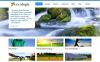Prémium Környezet témakörű  Moto CMS HTML sablon New Screenshots BIG