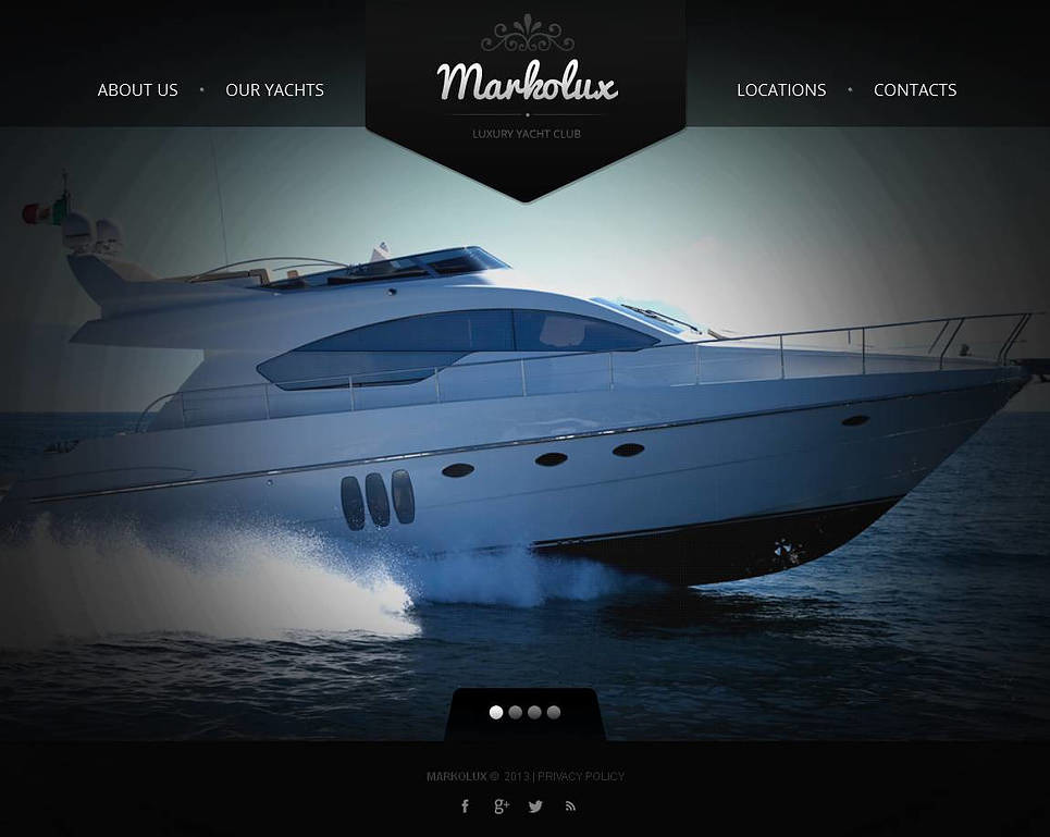 Yachting Moto CMS HTML Template New Screenshots BIG
