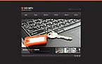 Security Website  Template 44402